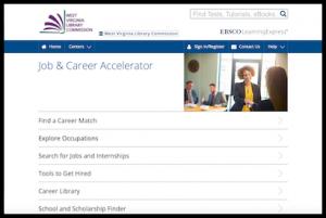 Job and Career Accelerator home screen thumbnail